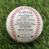 To My Son - Baseball- Never Lose