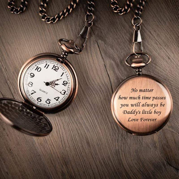 Daddy's Little Boy - Pocket Watch for Son