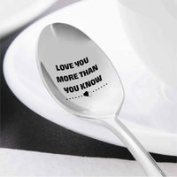 Engraved Coffee Spoon - Best Gift for Family and Friend