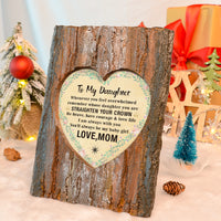Mom To Daughter - Straighten Your Crown - Photo Frame