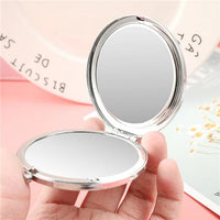 Mom To Daughter - Straighten Your Crown - Pocket Mirror