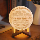 Mom To Daughter - I Will Always Love You - Moon Light