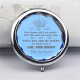 To My Wife - You Are My Queen Forever - Pocket Mirror