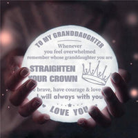 To My Granddaughter - Straighten Your Crown - Moon Light