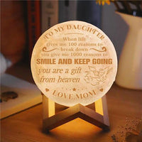 Mom To Daughter - You Are A Gift From Heaven - Moon Light