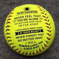 Dad To Daughter - I Will Always Love You - Softball
