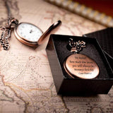 Mommy's Little Boy - Pocket Watch for Son