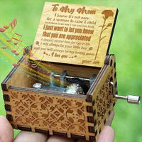 Son To Mom - You Will Always Be My Loving Mom- Engraved Music Box