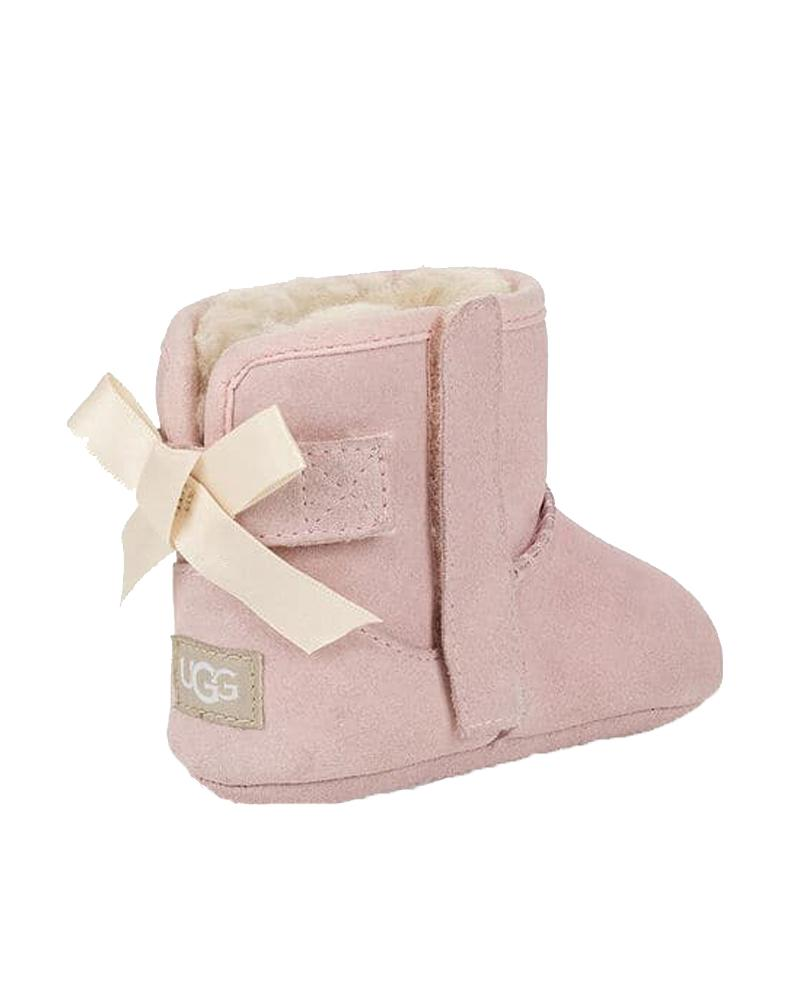 Baby Girls Pink Jesse Bow II And Beanie Set