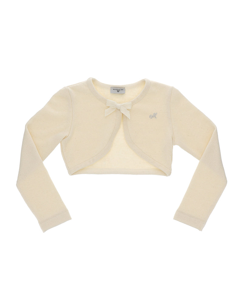 Girls Beige Cardigan