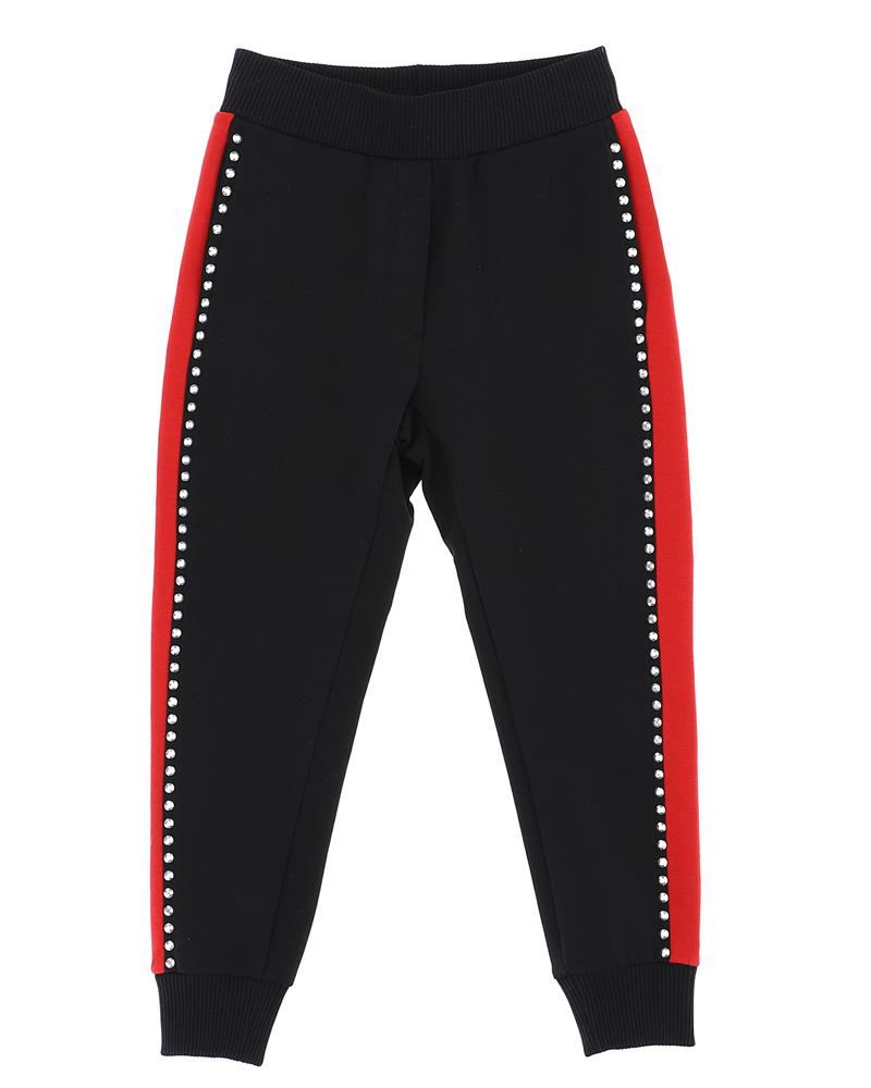 Girls Black Track Pants