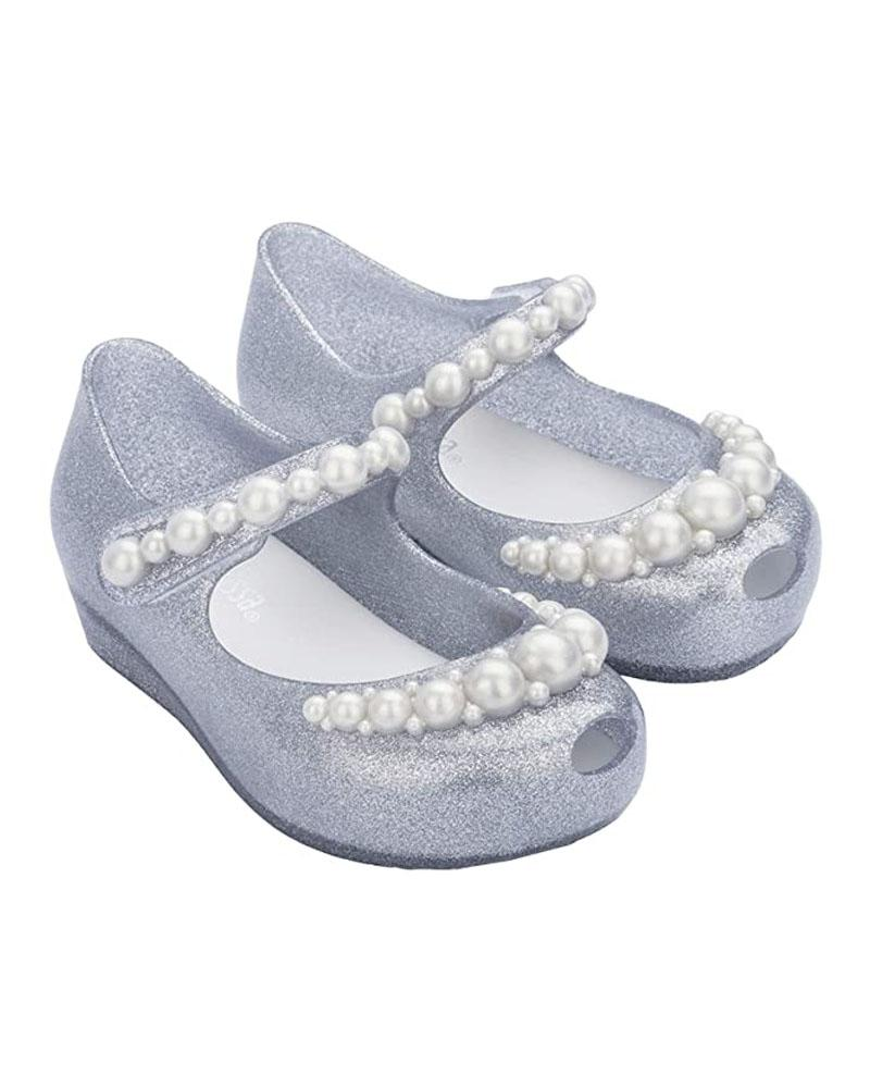 Girls Silver Ultragirl BB Shoes