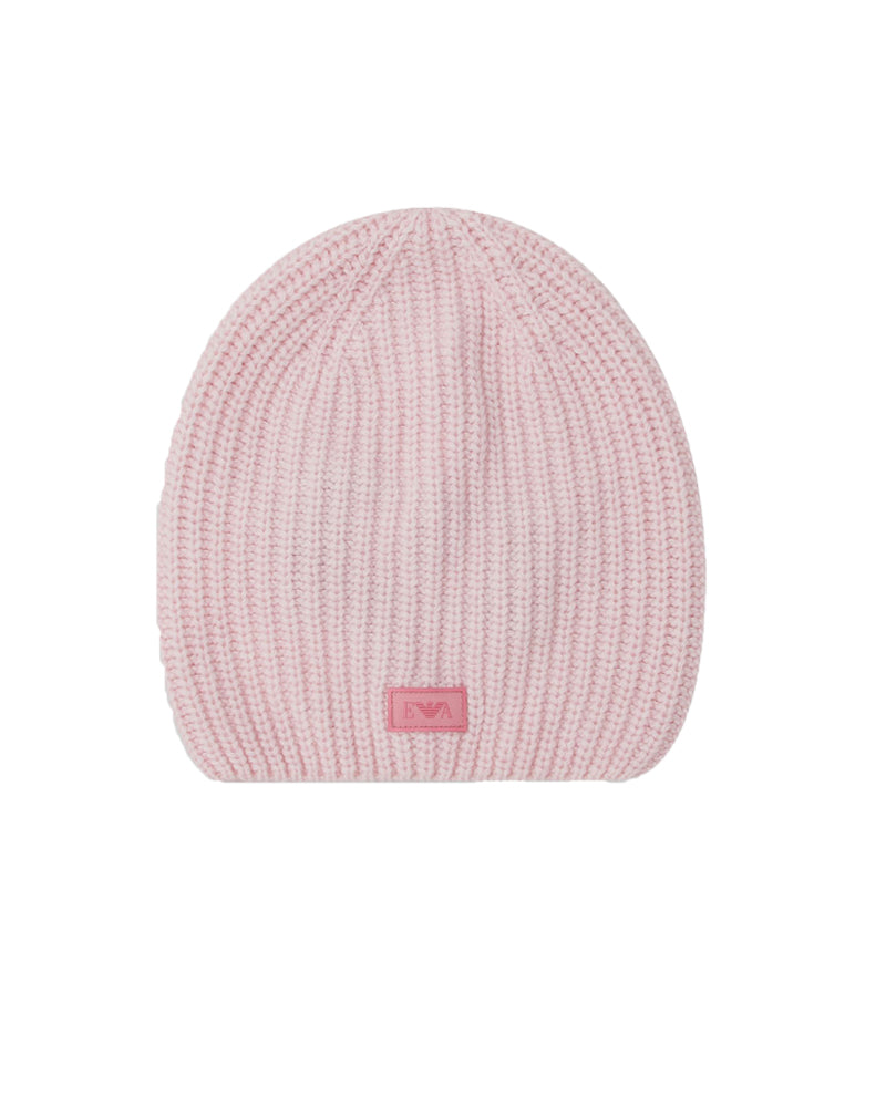 Girls Pink Beanie Hat