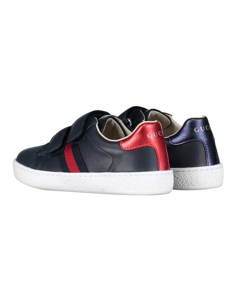 Unisex Navy New Ace Sneaker