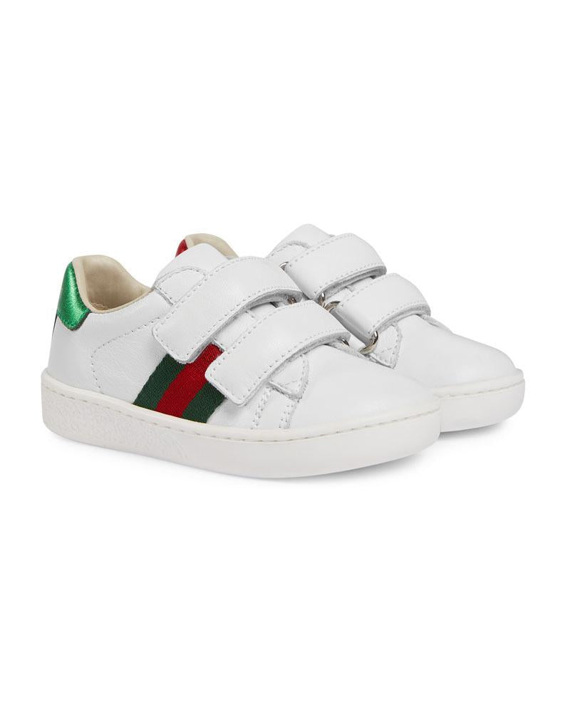 Unisex White New Ace Sneaker