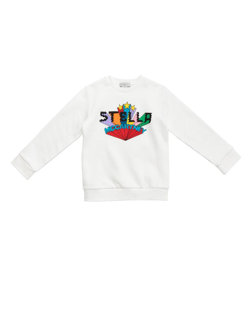 Girls White Sweatshirt
