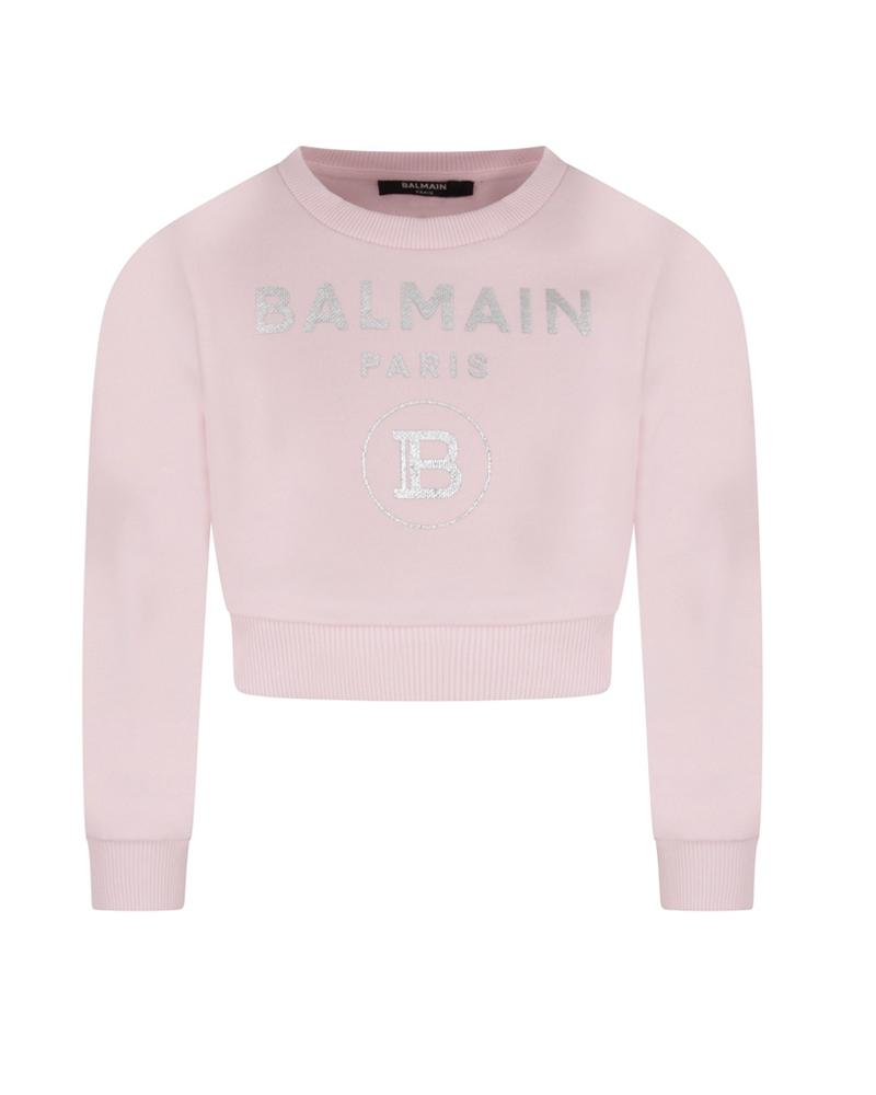Girls Pink Sweatshirt