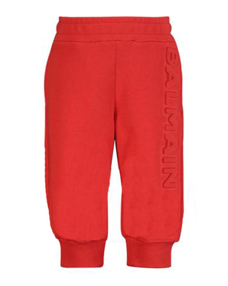 Baby Unisex Red Track Pants