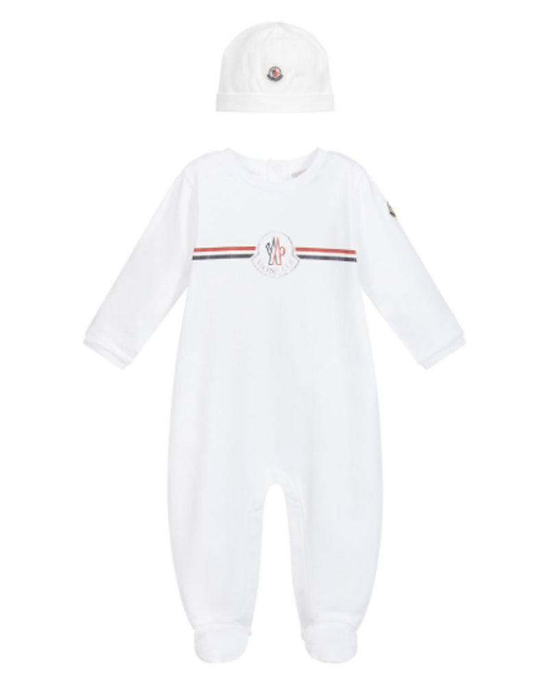 Baby White Onesie Set
