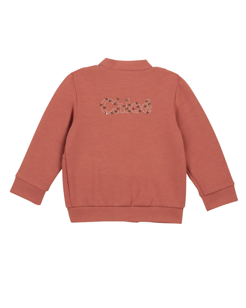 Baby Girls Brown Sweater