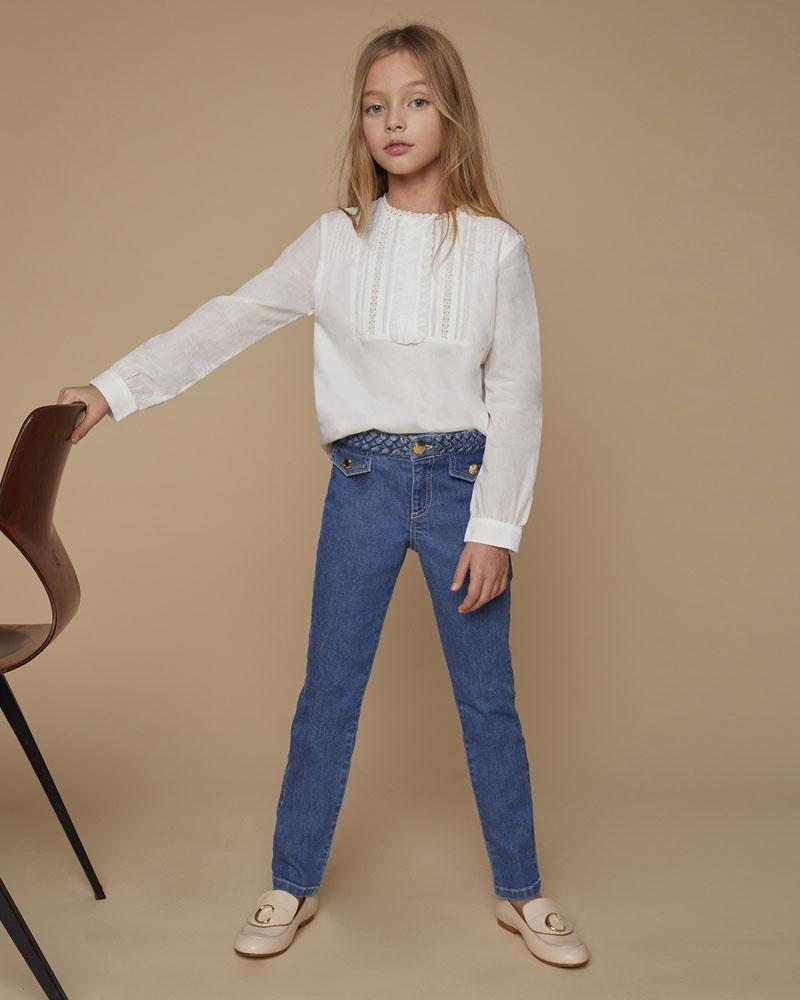 Girls Blue Denim