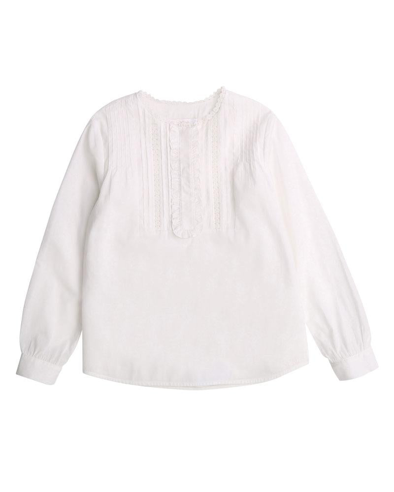 Girls Ivory Blouse