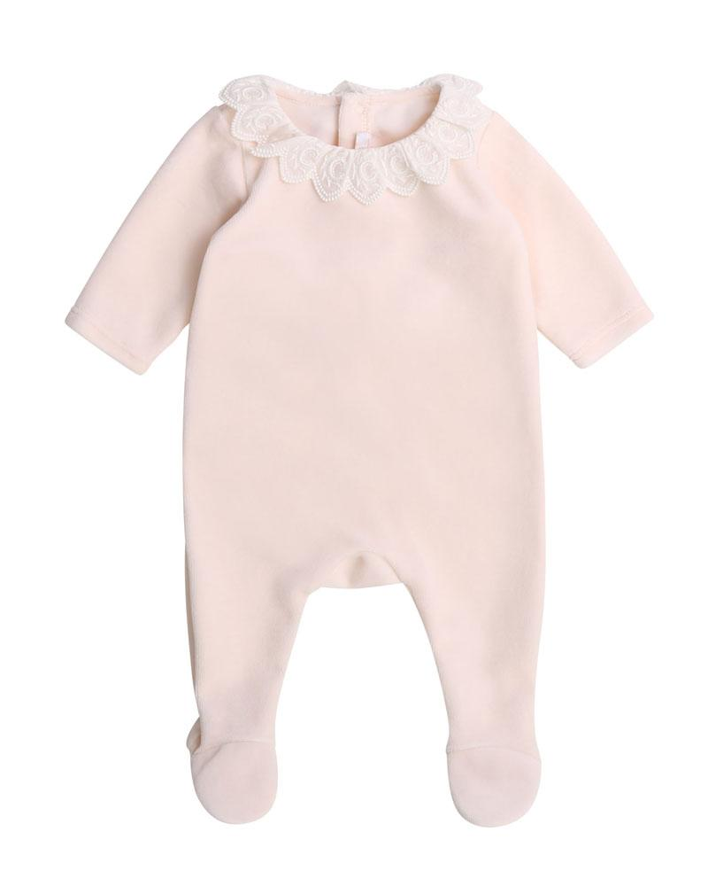 Baby Girls Pink Onesie