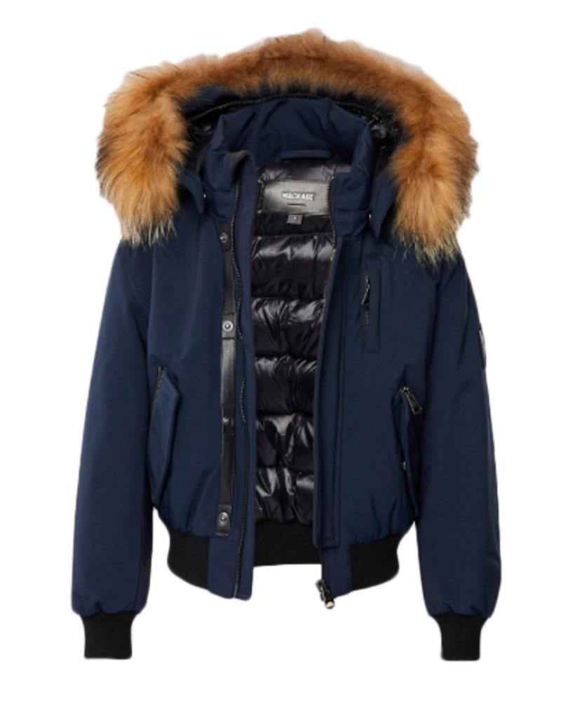 Boys Navy Dax Coat