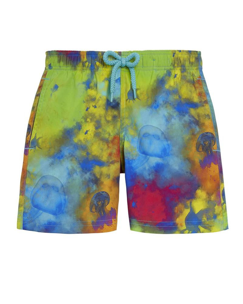 Boys Multi-Print Swim Shorts