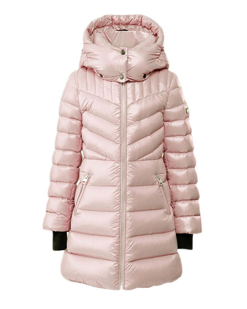 Girls Pink Larena Coat