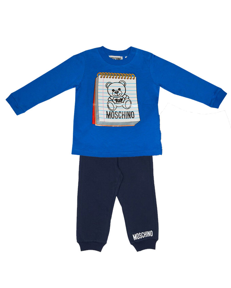 Baby Boys Blue Two Piece Set