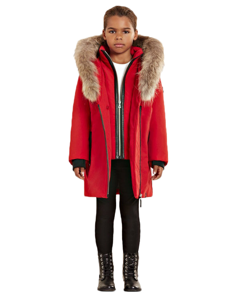 Girls Red Montreal Mini Jacket