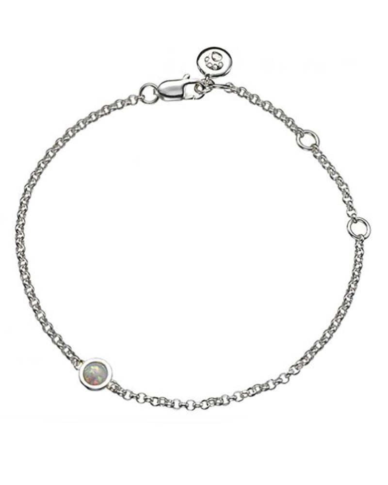 October Birthstone Bracelet-Opal