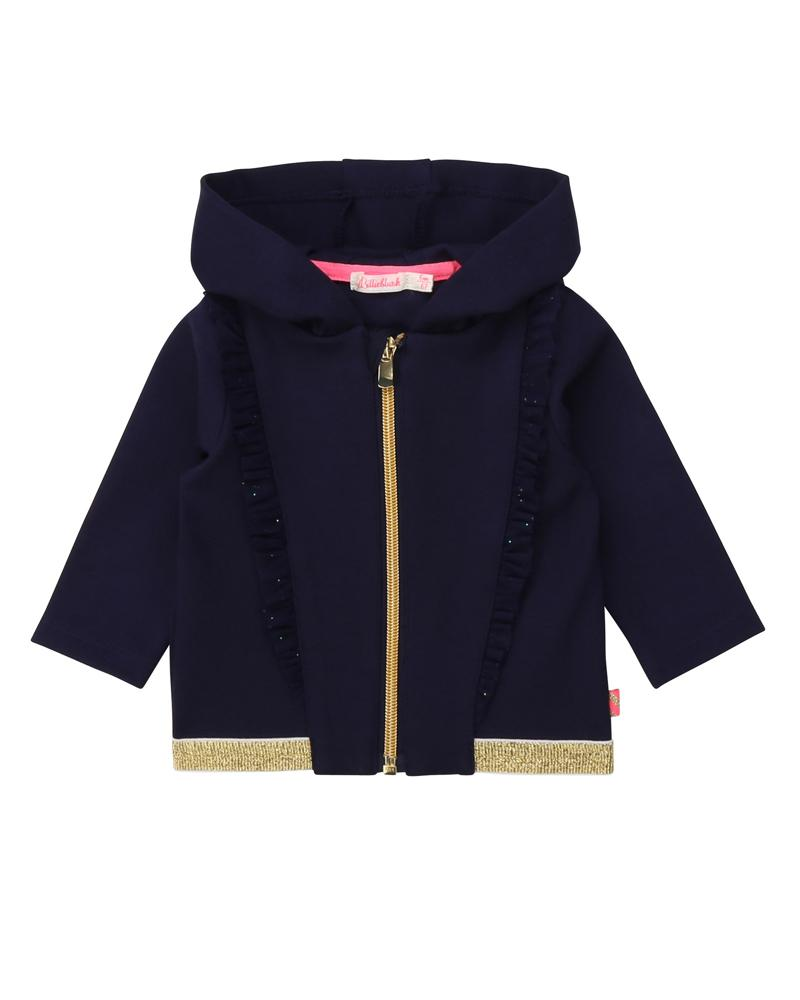 Baby Girls Navy Sweater