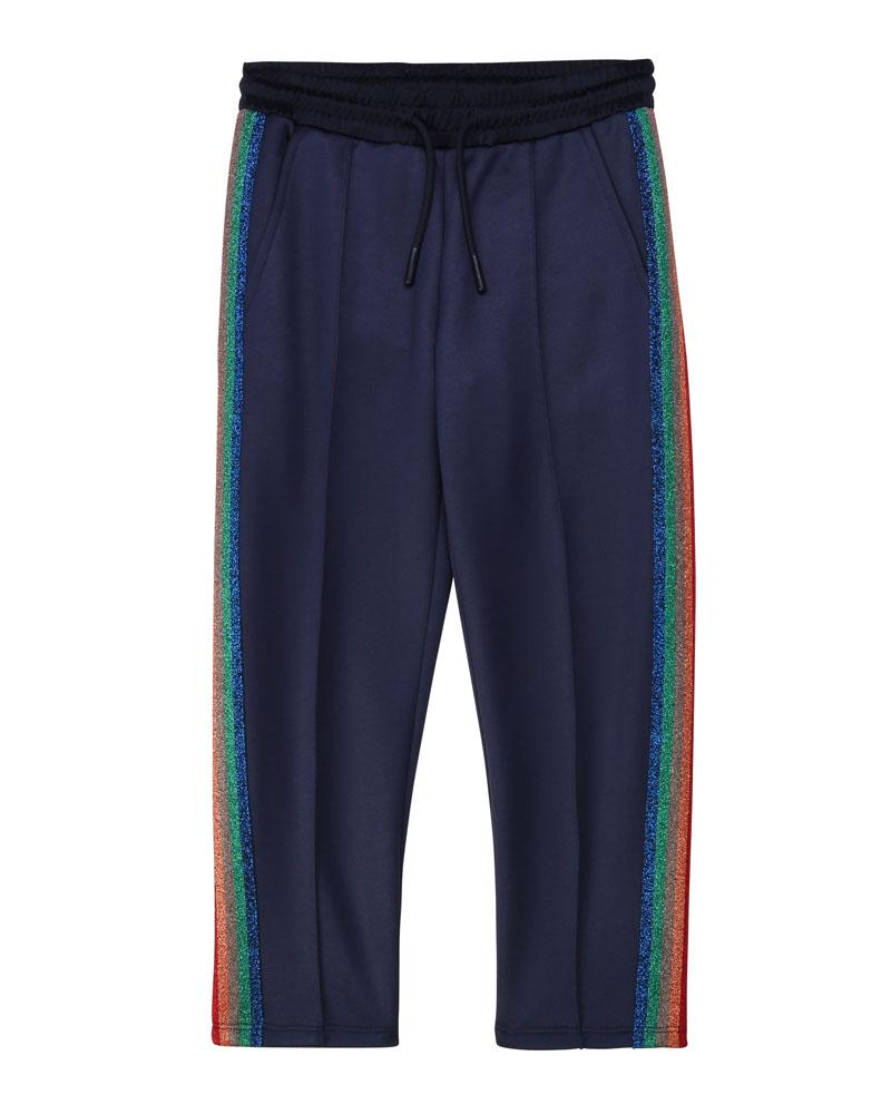 Girls Navy Track Pants