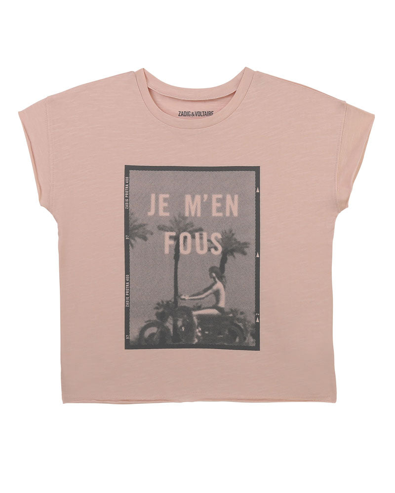 Girls Pink T-Shirt