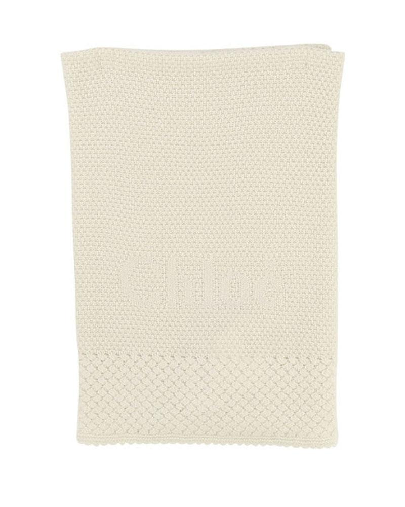 Baby Girls Ivory Blanket