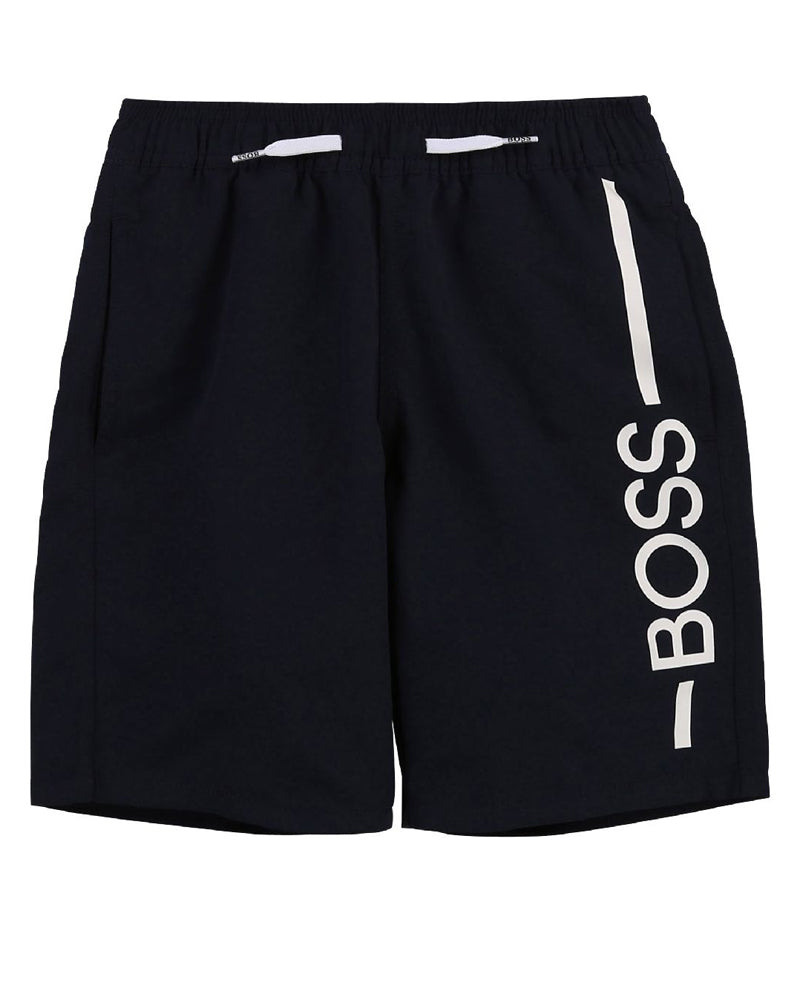 Baby Boys Navy Swim Shorts