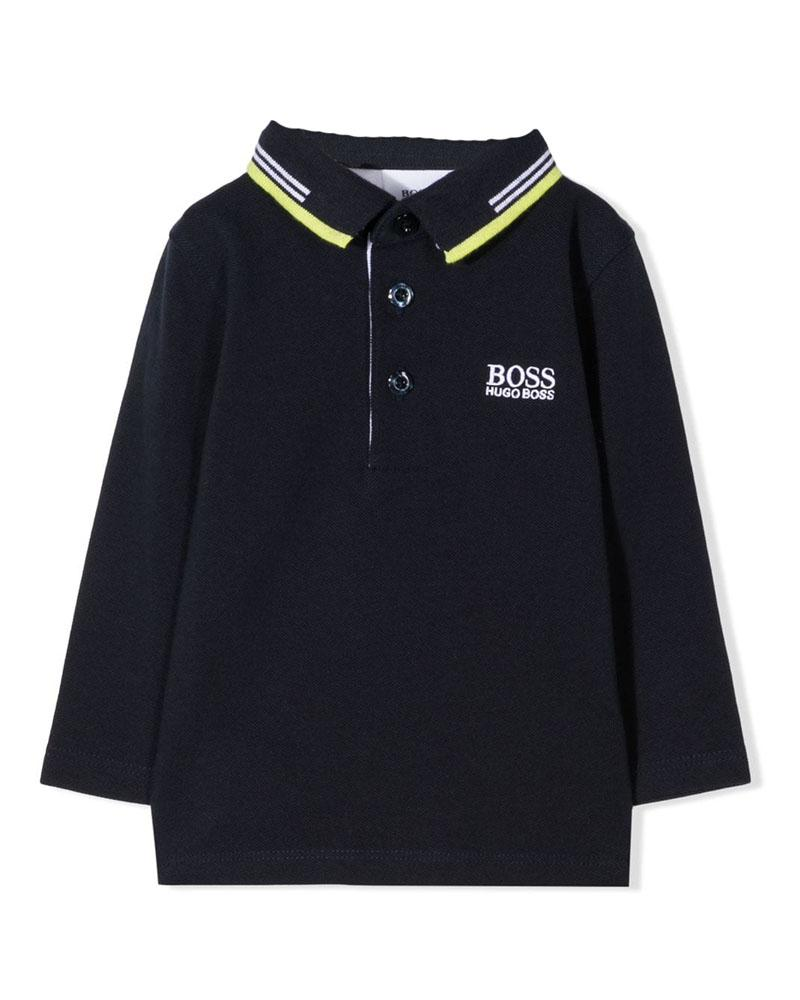 Baby Boys Navy Polo