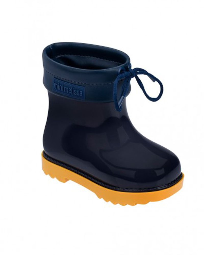 Boys Navy Rainboot
