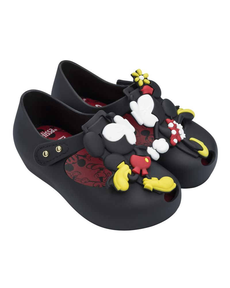 Black Ultragirl Disney Flats