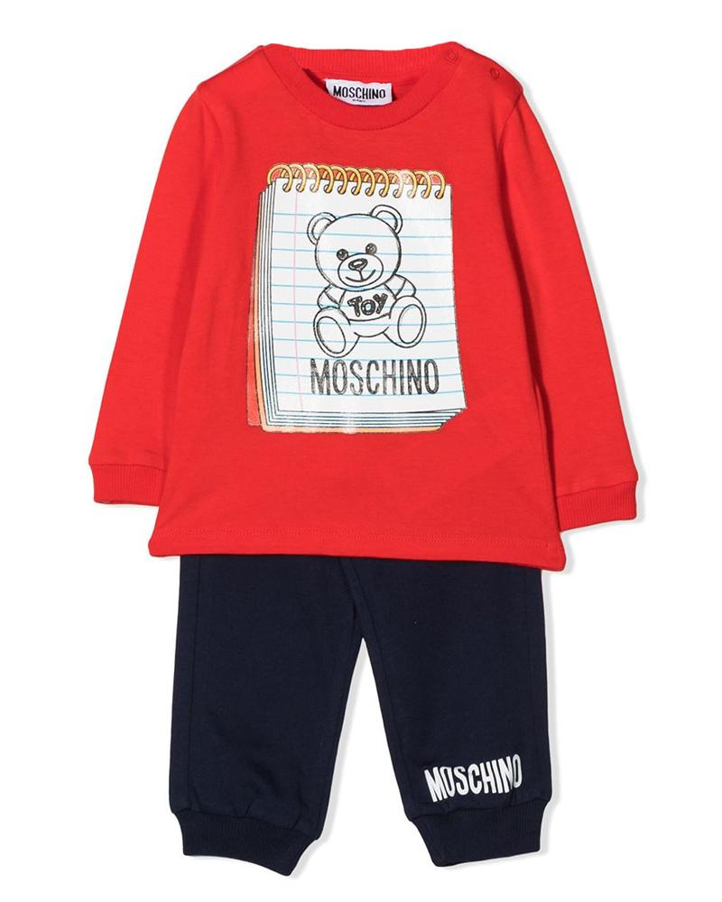 Baby Boys Red Two Piece Set