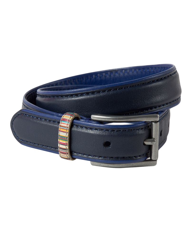 Boys Navy Belt