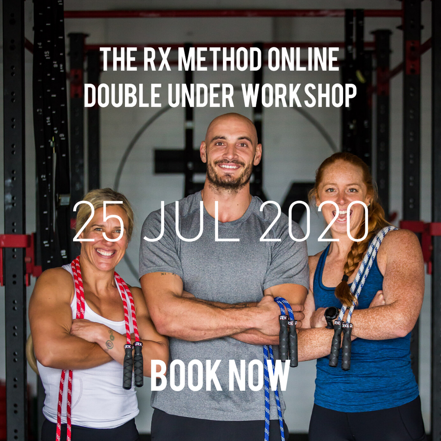 Rx Method Online Double Under Workshop 25 July 2020