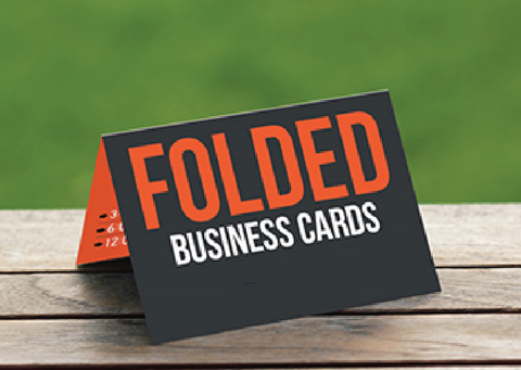 Foldable Business Card - Thank You Cards