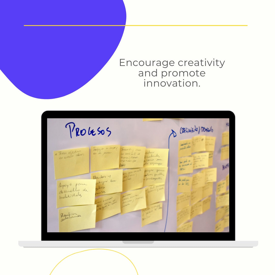 Activity to encourage creativity and promote innovation.