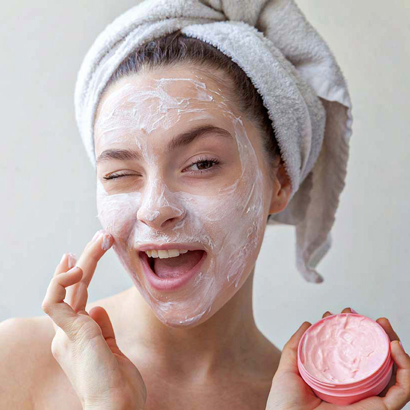 Japanese Pink Sakura Mud Mask