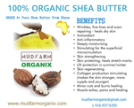 100% Organic Shea Butter Benefits