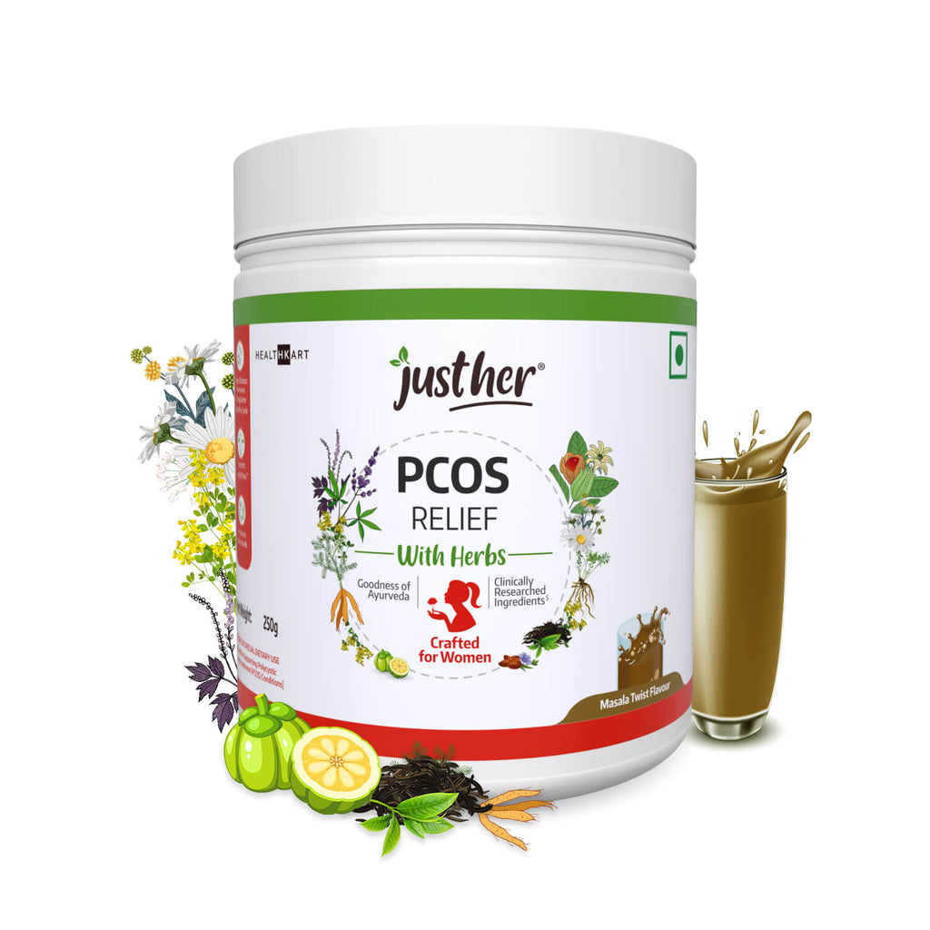 JustHer PCOS RELIEF with Herbs