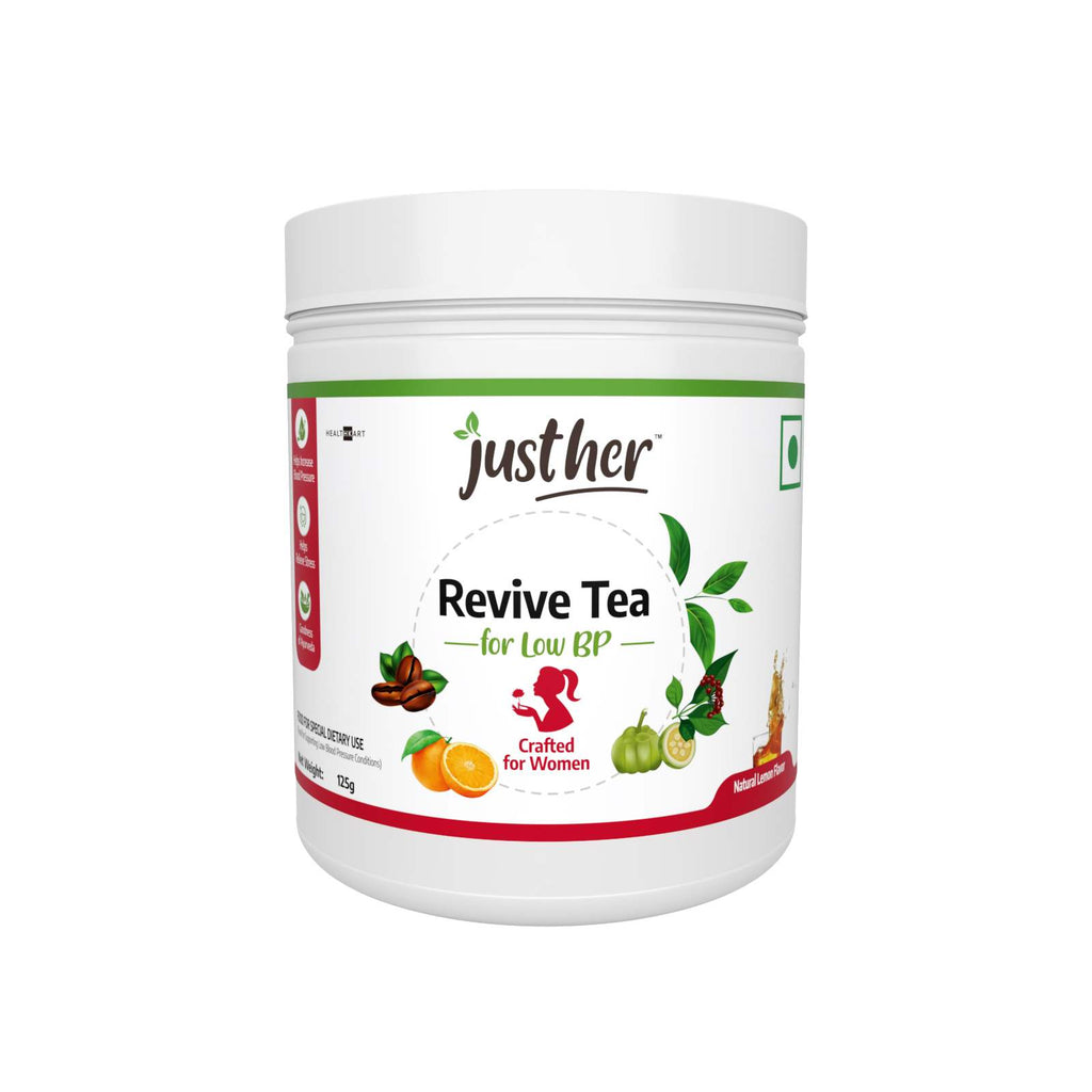 JustHer Revive Tea for Low BP